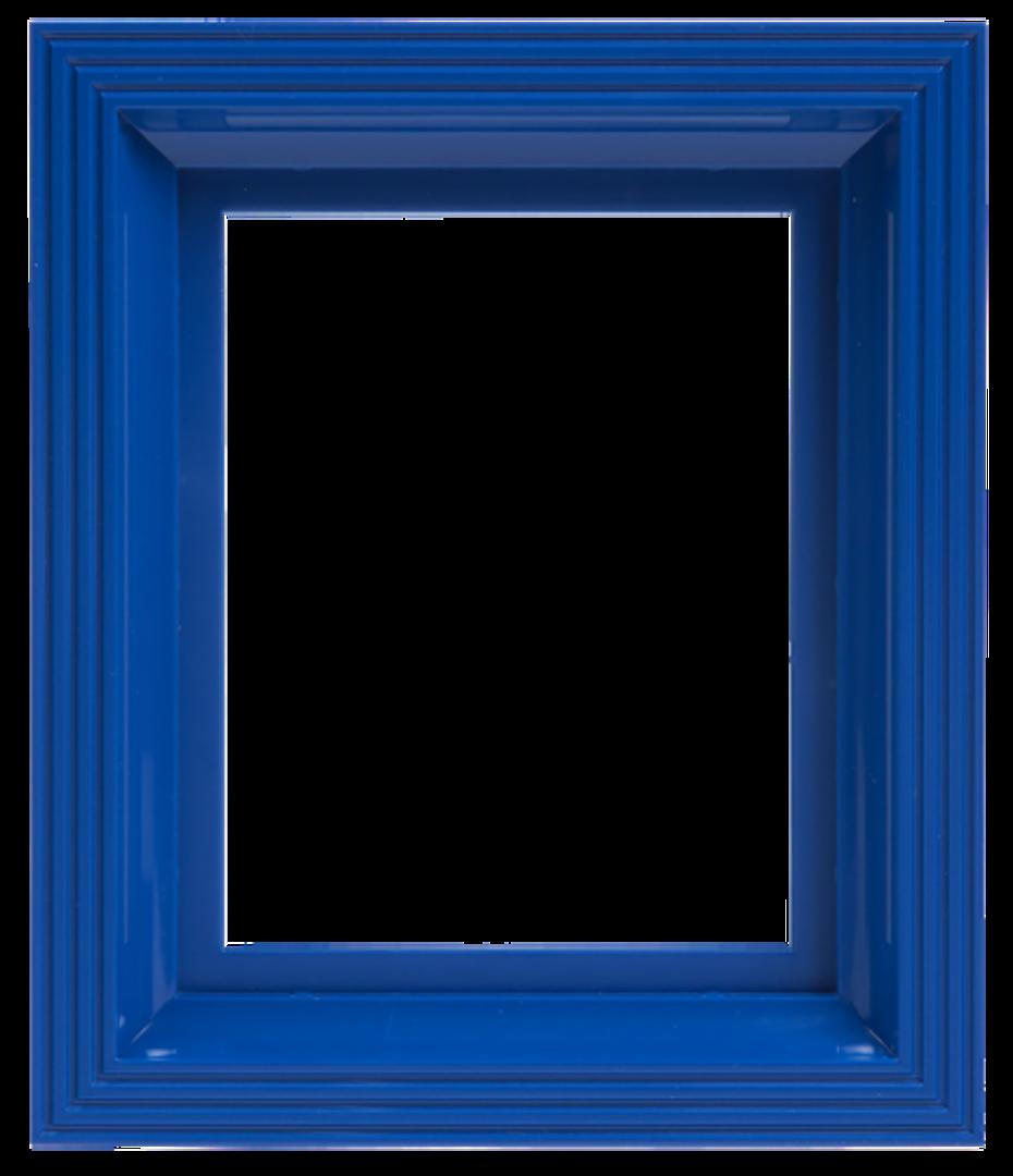 Plastic Frame For Single Baseplate Blue image 0