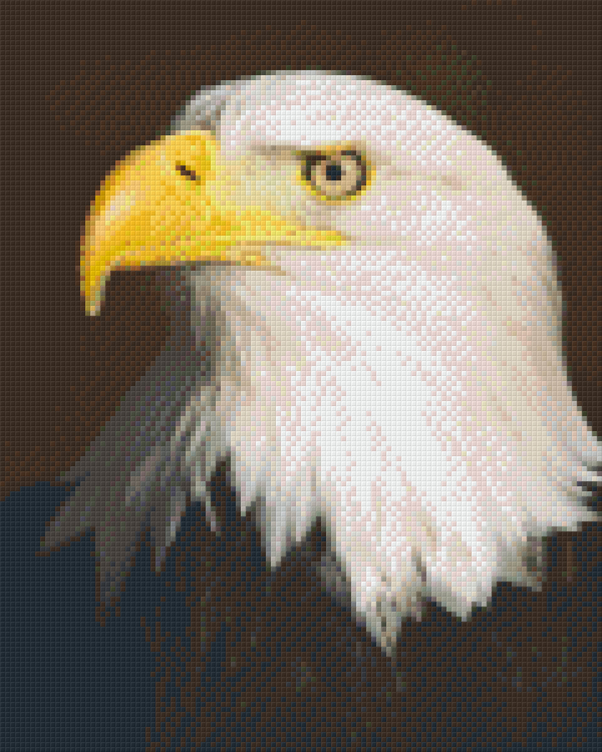 Eagle Nine [9] Baseplate PixelHobby Mini-mosaic Art Kits image 0