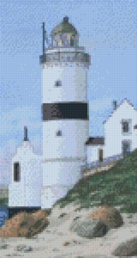 The Cloch Lighthouse Six [6] Baseplate PixelHobby Mini-mosaic Art Kits image 0