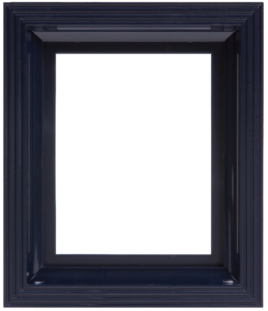 Plastic Frame For Single Baseplate Dark Blue [Close To Black] image 0