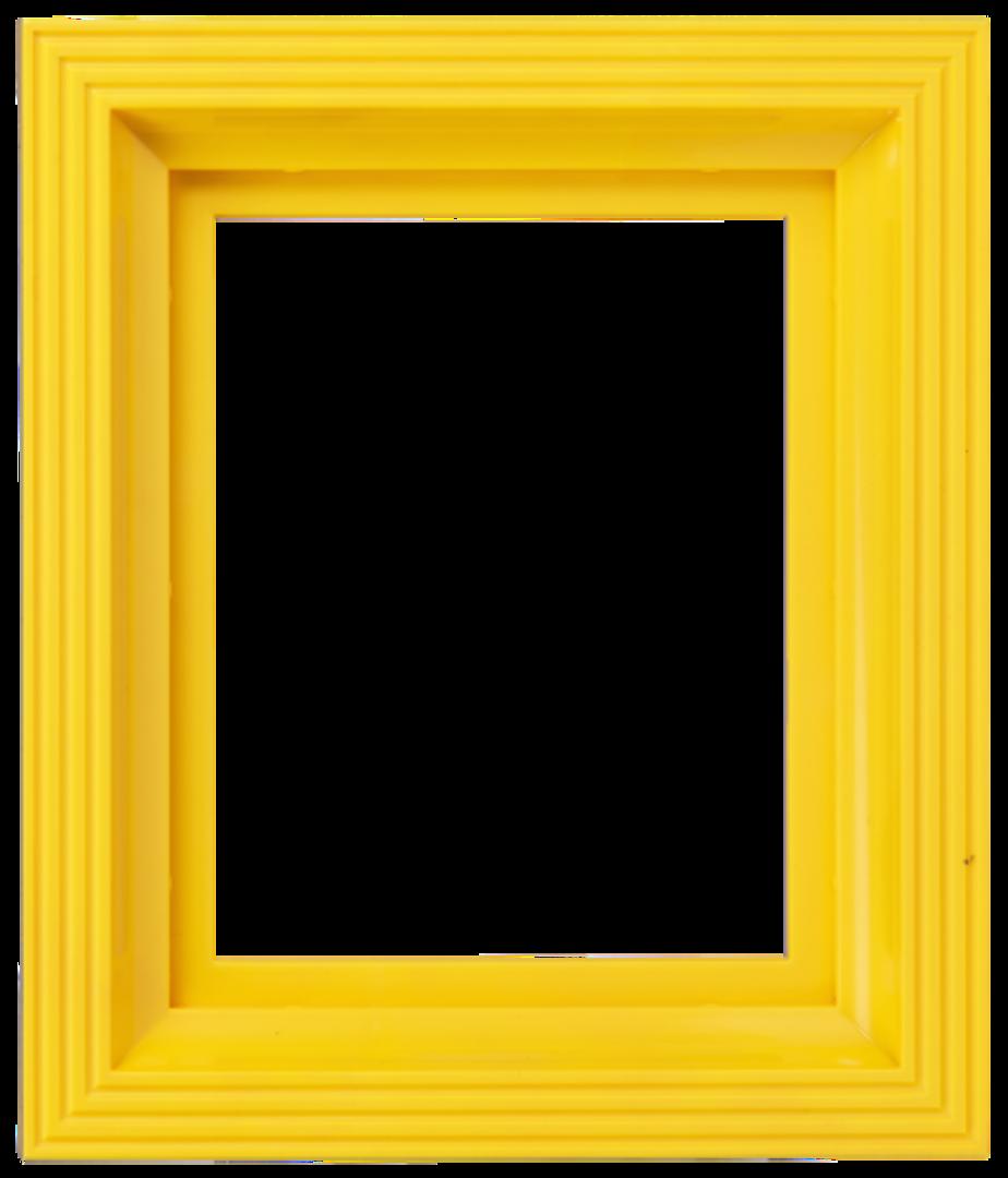Plastic Frame For Single Baseplate Yellow image 0