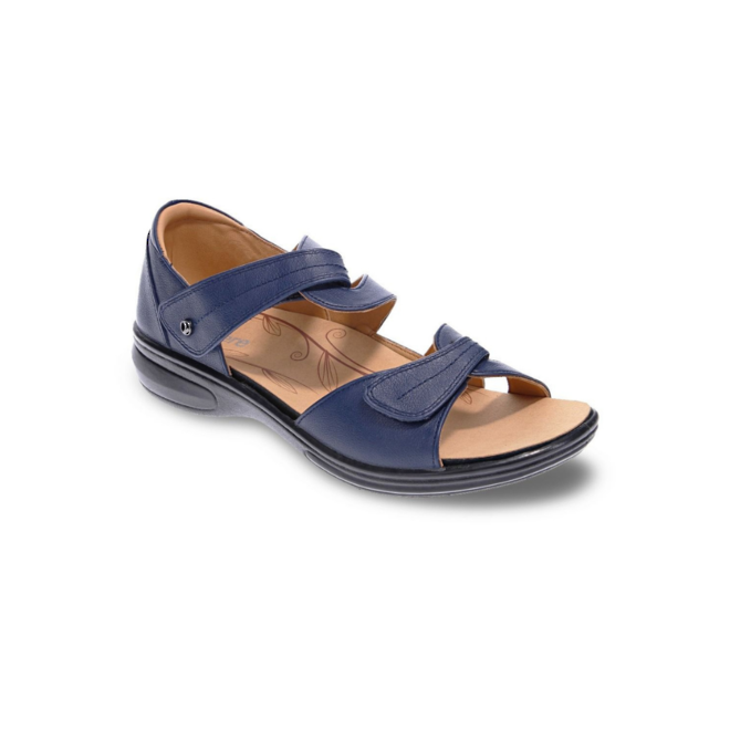 Revere Women's Geneva Closed Heel Sandal Standard (B) Width image 1