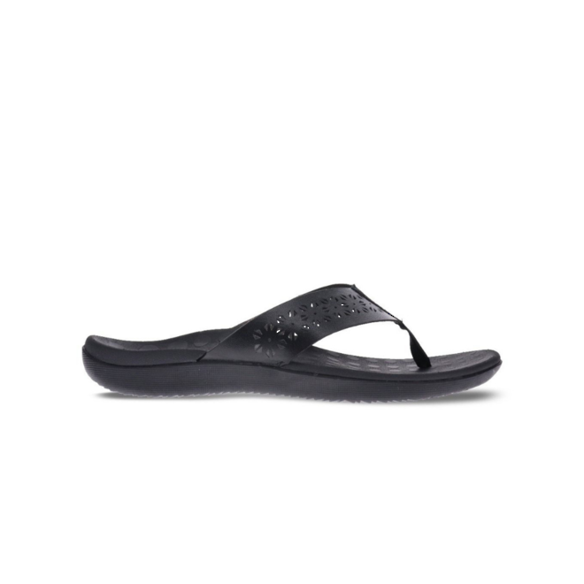 Scholl Women's Spangle Toe Post Sandal image 0