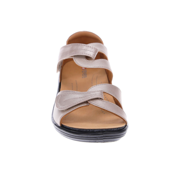 Revere Women's Geneva Closed Heel Sandal Standard (B) Width image 4