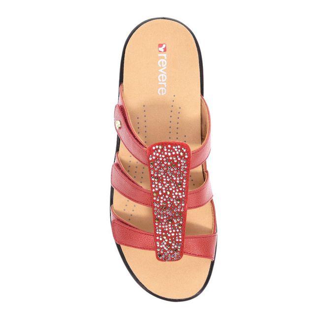 Revere Women's Catalina Slide Sandal Standard (B) Width image 3