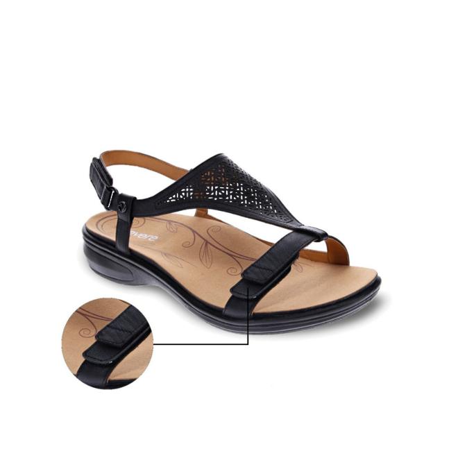 Revere Women's Santa Fe Back Strap Sandal Standard (B) Width image 1