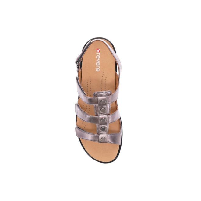 Revere Women's Toledo Back Strap Sandal Wide (D) Width image 3