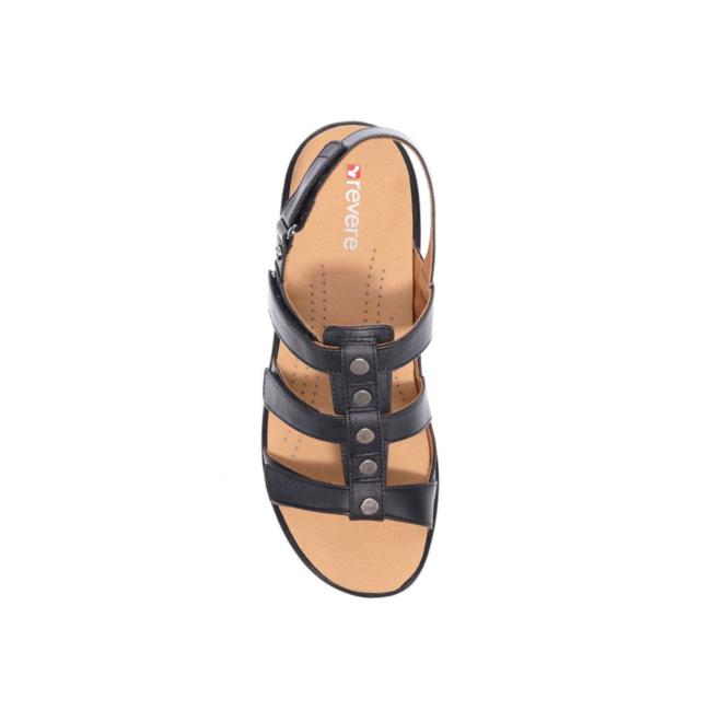 Revere Women's Toledo Back Strap Sandal Standard (B) Width image 3