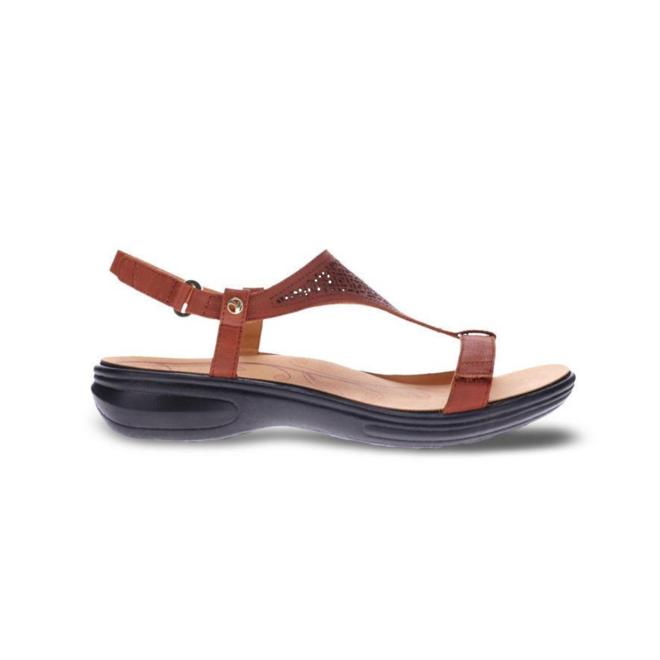 Revere Women's Santa Fe Back Strap Sandal Standard (B) Width image 0