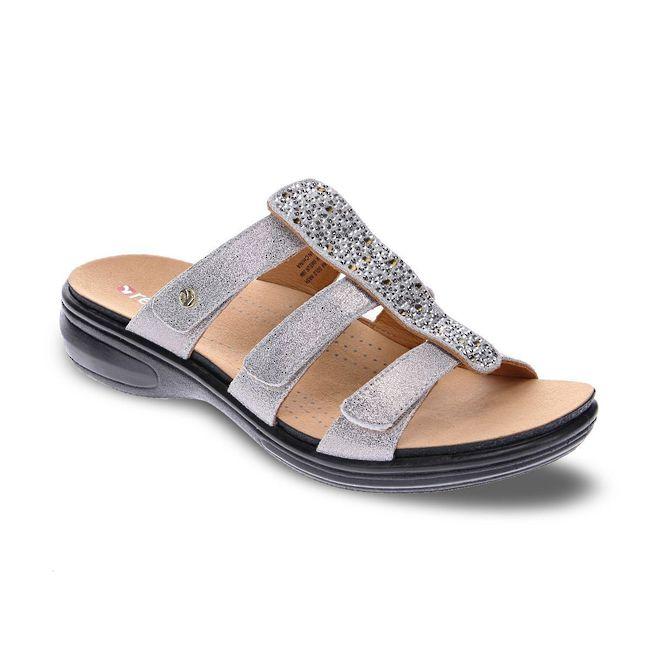 Revere Women's Catalina Slide Sandal Standard (B) Width image 5