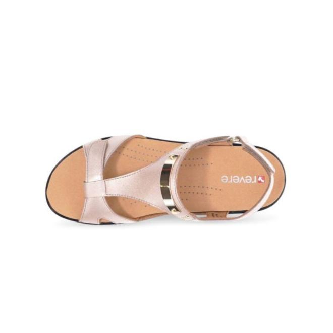 Revere Women's Santa Monica Back Strap Sandal Standard (B) Width image 3