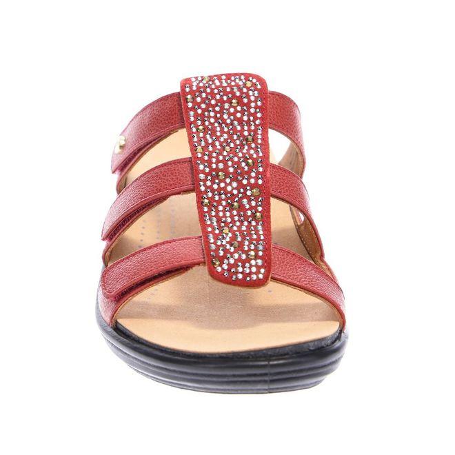 Revere Women's Catalina Slide Sandal Standard (B) Width image 4