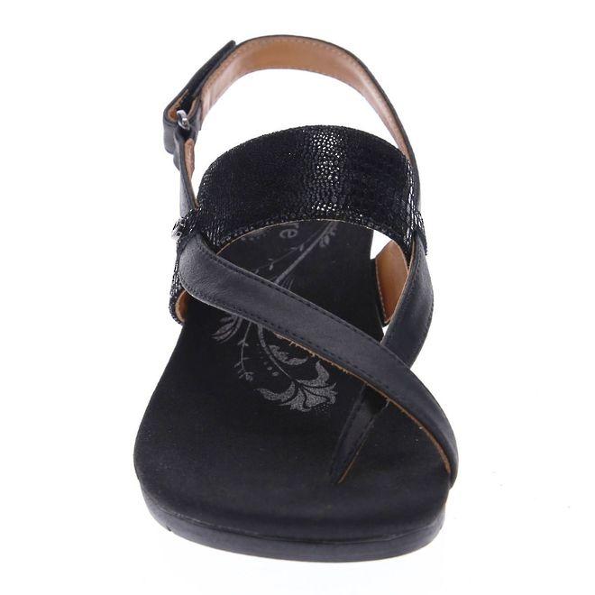 Revere Women's Honolulu Backstrap Wedge Sandal Standard (B) Width image 4