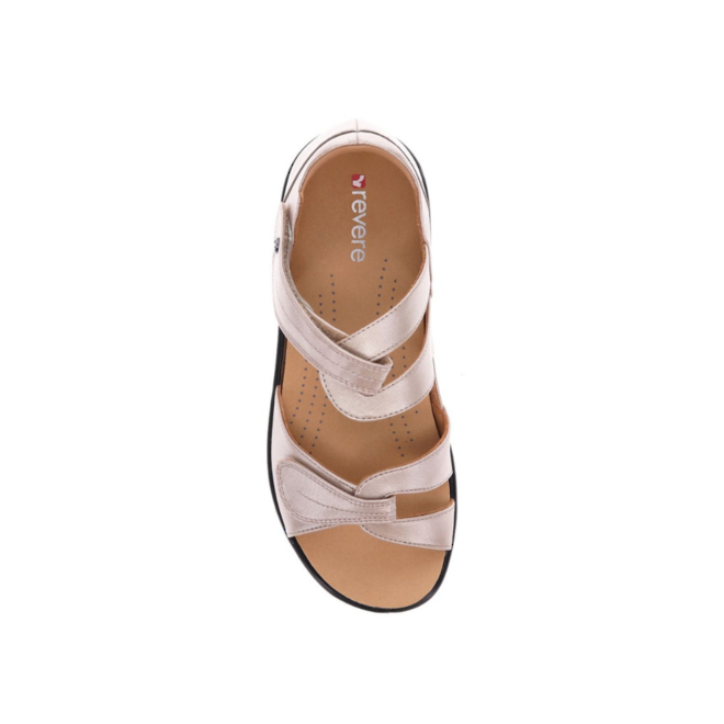 Revere Women's Geneva Closed Heel Sandal Standard (B) Width image 3