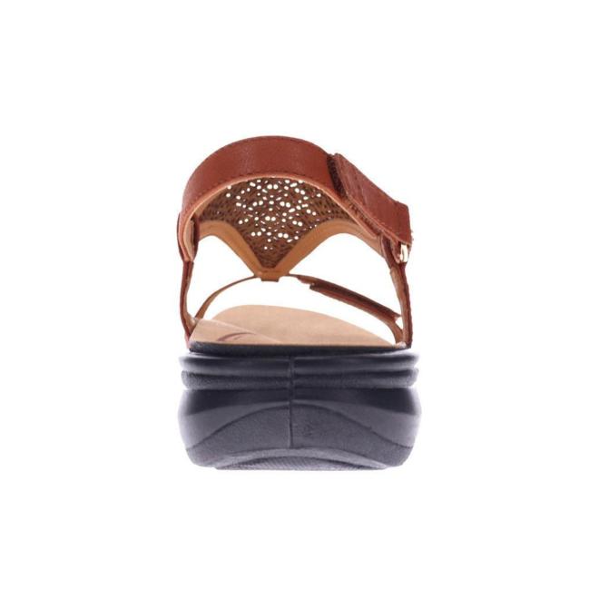 Revere Women's Santa Fe Back Strap Sandal Wide (D) Width image 4