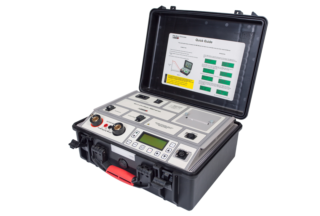 DV-Power RMO-G series Micro Ohmmeters image 0