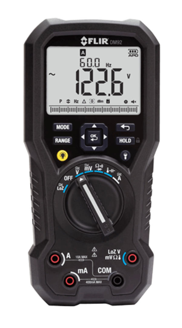 Flir DM92 True RMS Industrial Multimeter image 0