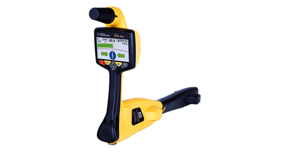 Vivax-Metrotech  vLoc3 RTK-Pro Cable and Pipe Locator with Survey Grade GNSS image 0