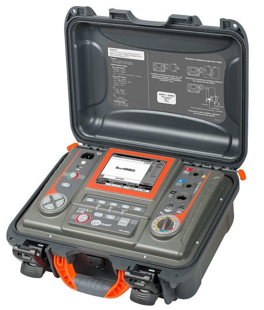 Sonel MIC-5050:  5kV Insulation Resistance Tester - CATIV image 0