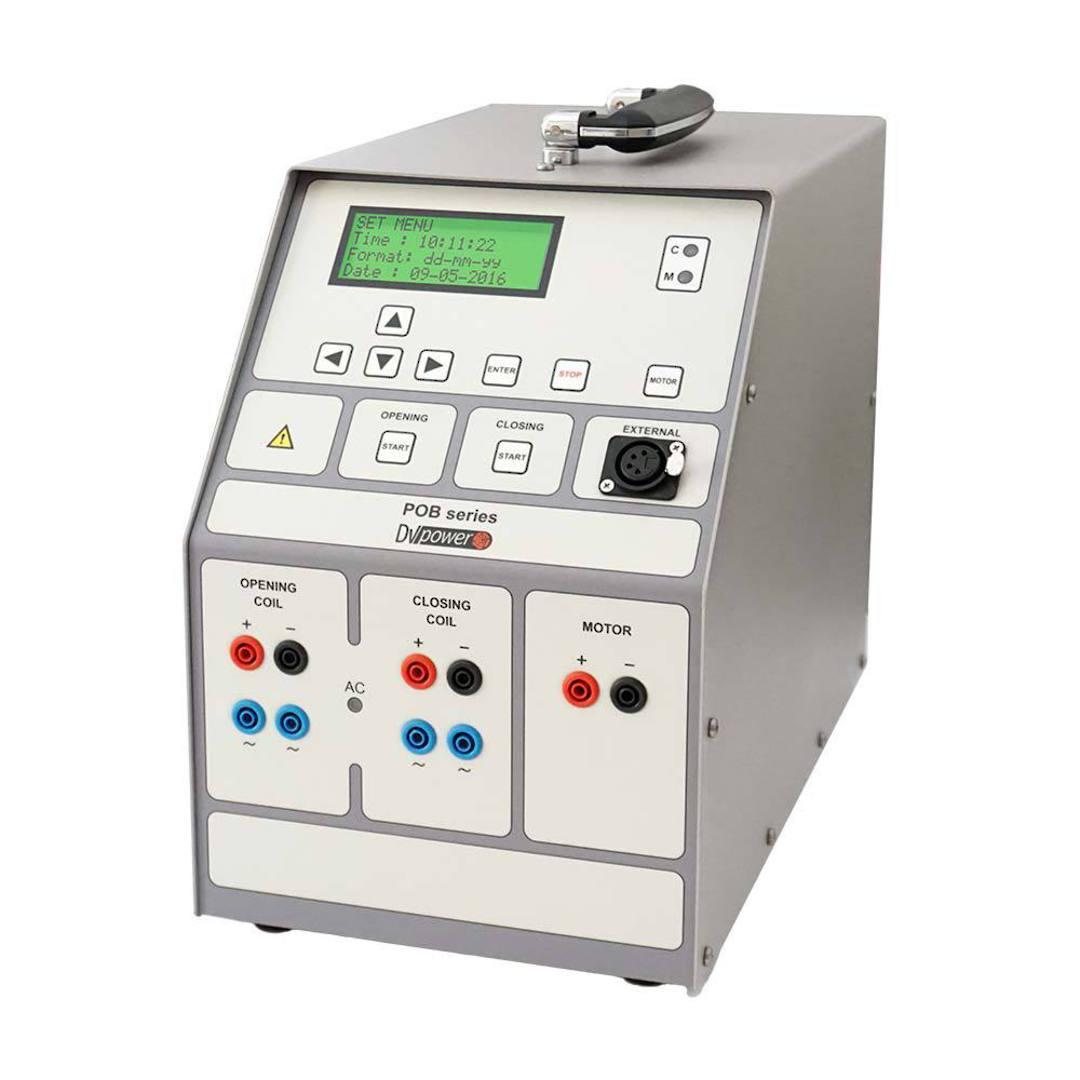 Circuit Breaker Power supply and Coil Tester DV-Power POB 30