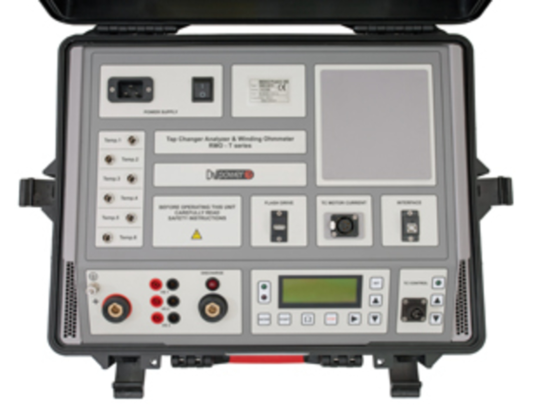 DV-Power Winding Resistance Meter and Tap Changer Analyser - RMO-TW, TD and TT Series image 0