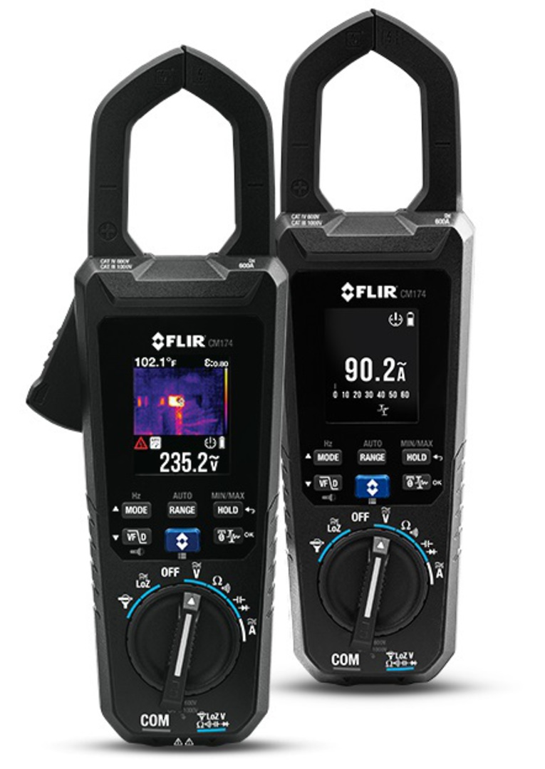 FLIR CM174 Thermal Imaging 600A AC/DC Clamp Meter image 0