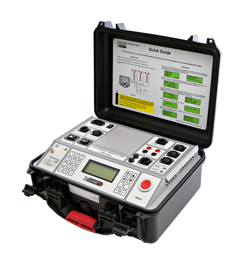 DV-Power Standard Series Circuit Breaker Analysers image 0