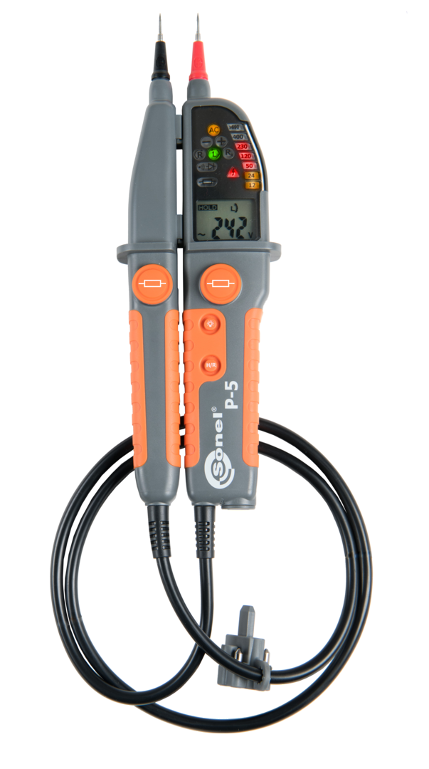 Sonel P-5 Two-pole Voltage Tester CATIV image 0