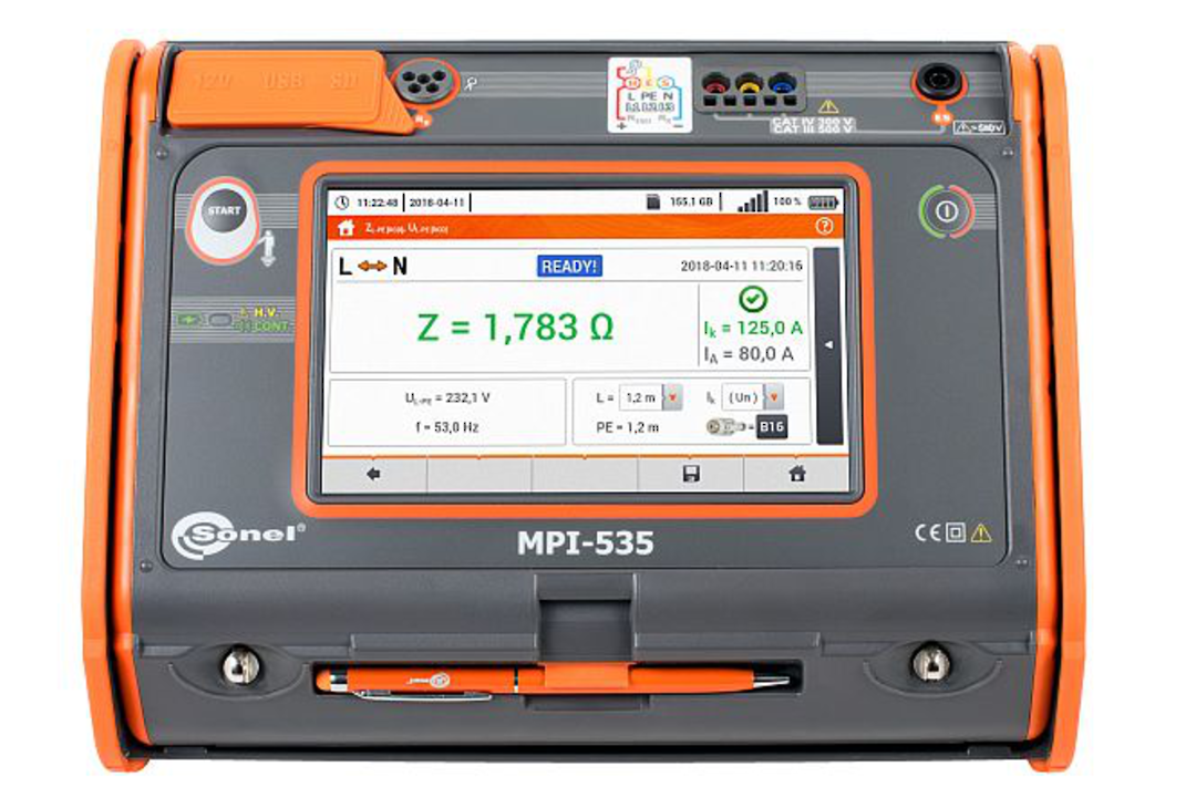 Sonel MPI-535 Multifunction Tester - CAT IV image 0