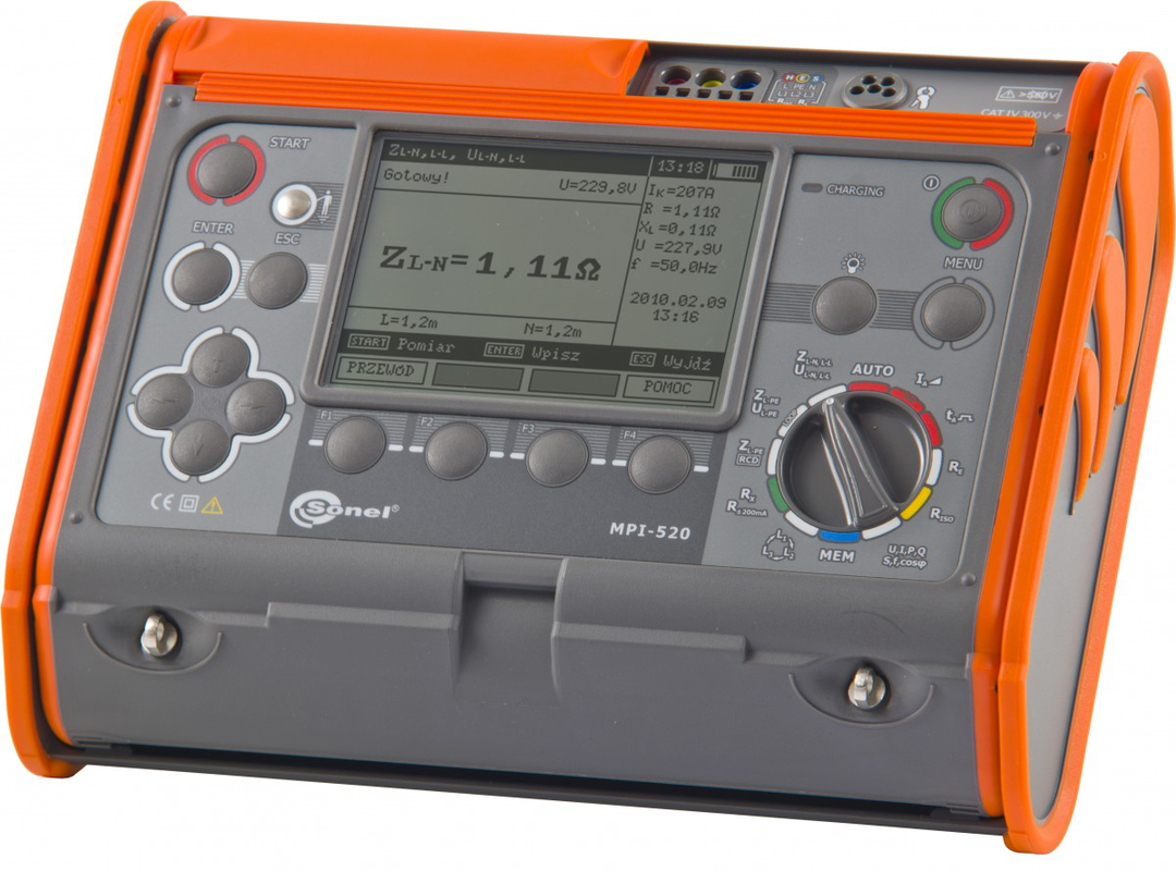Sonel MPI-520 Multifunction Tester -CAT IV image 0