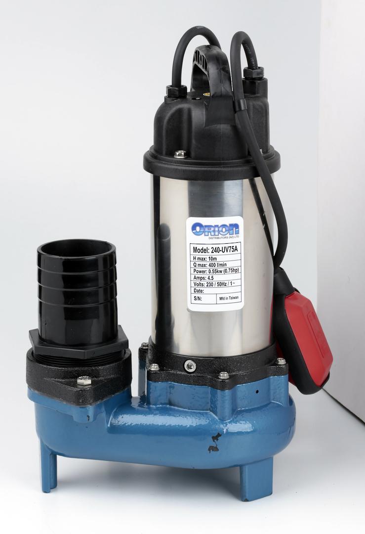 240-UV75A Submersible vortex pump image 0