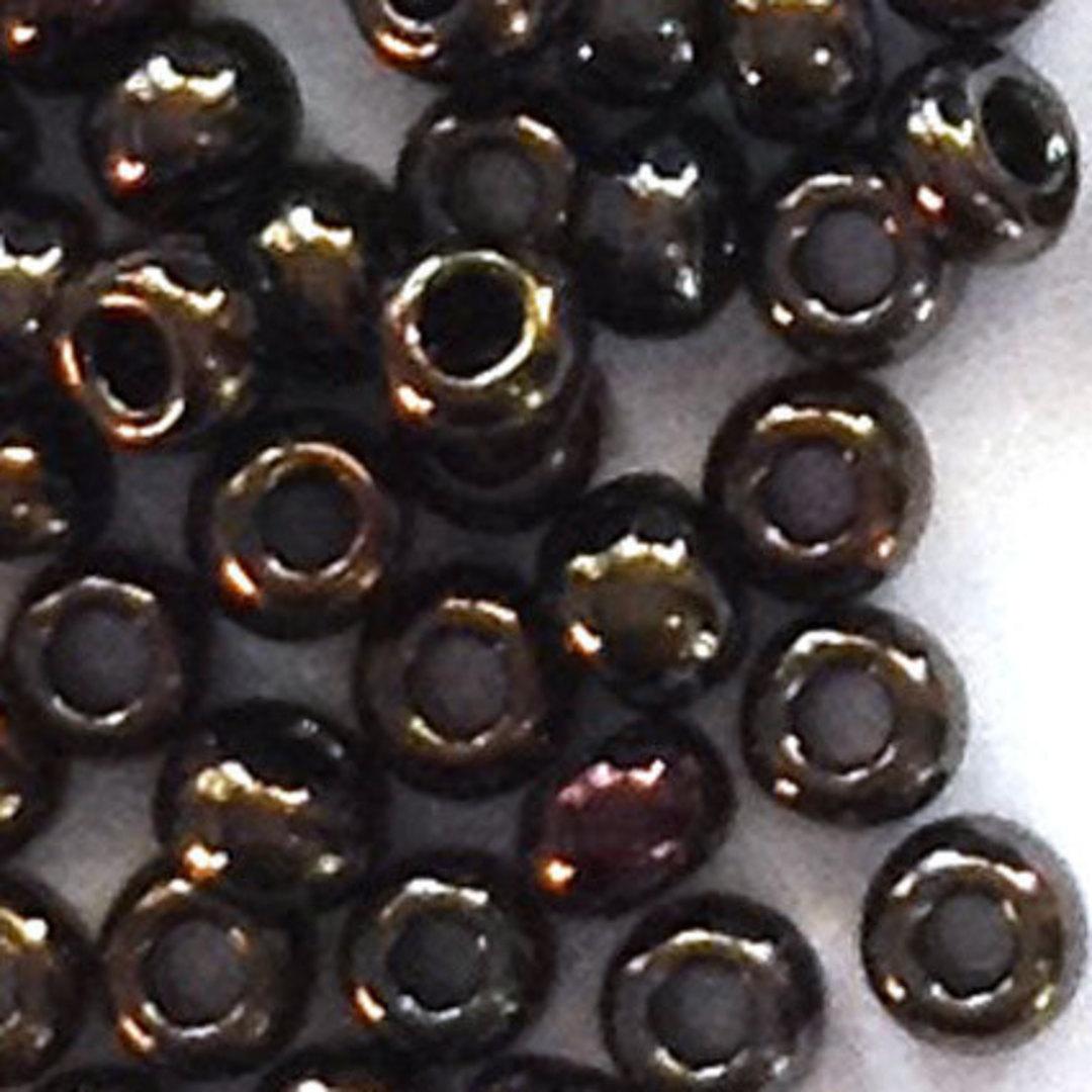 Toho size 11 round: 458 - Dark Brown Shimmer image 0