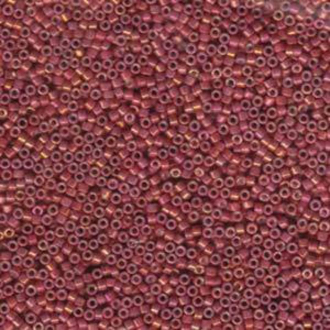 Delica, colour 1016 - Metallic Rhubarb Luster image 0
