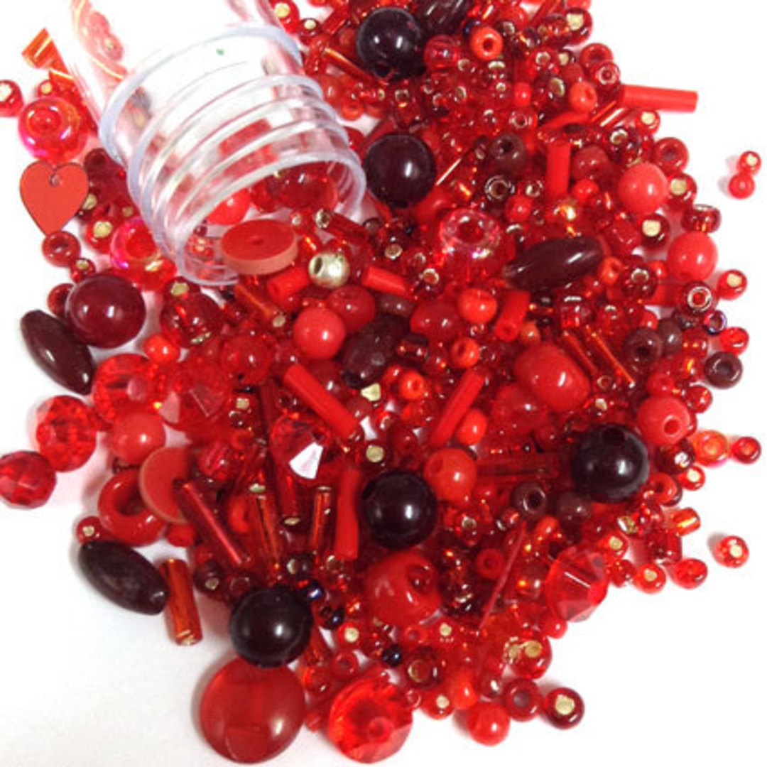 Seed Bead Mix, 15gm - Aroha image 0