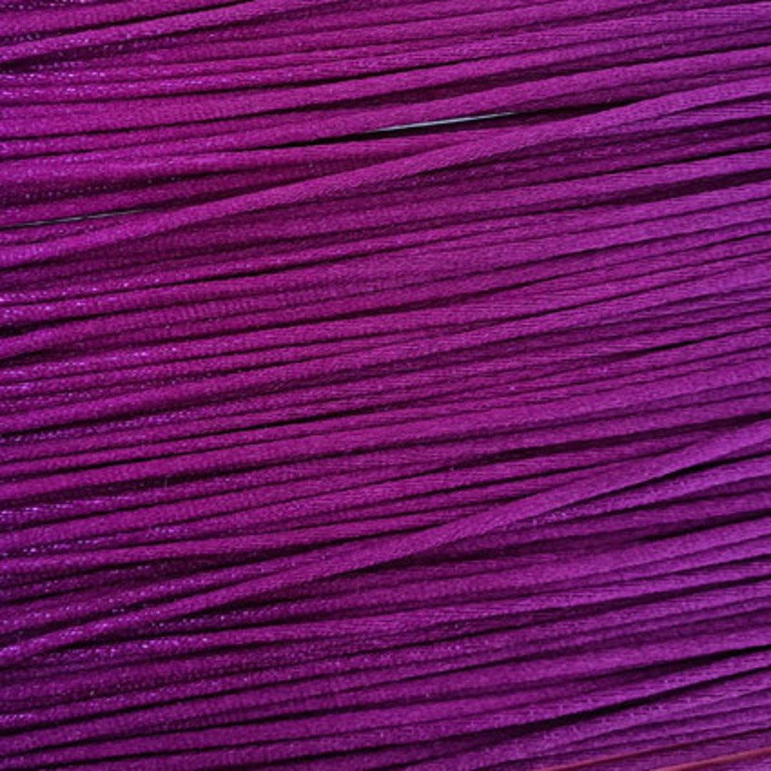 Satin Rats Tail Cord (2mm) - Purple image 0
