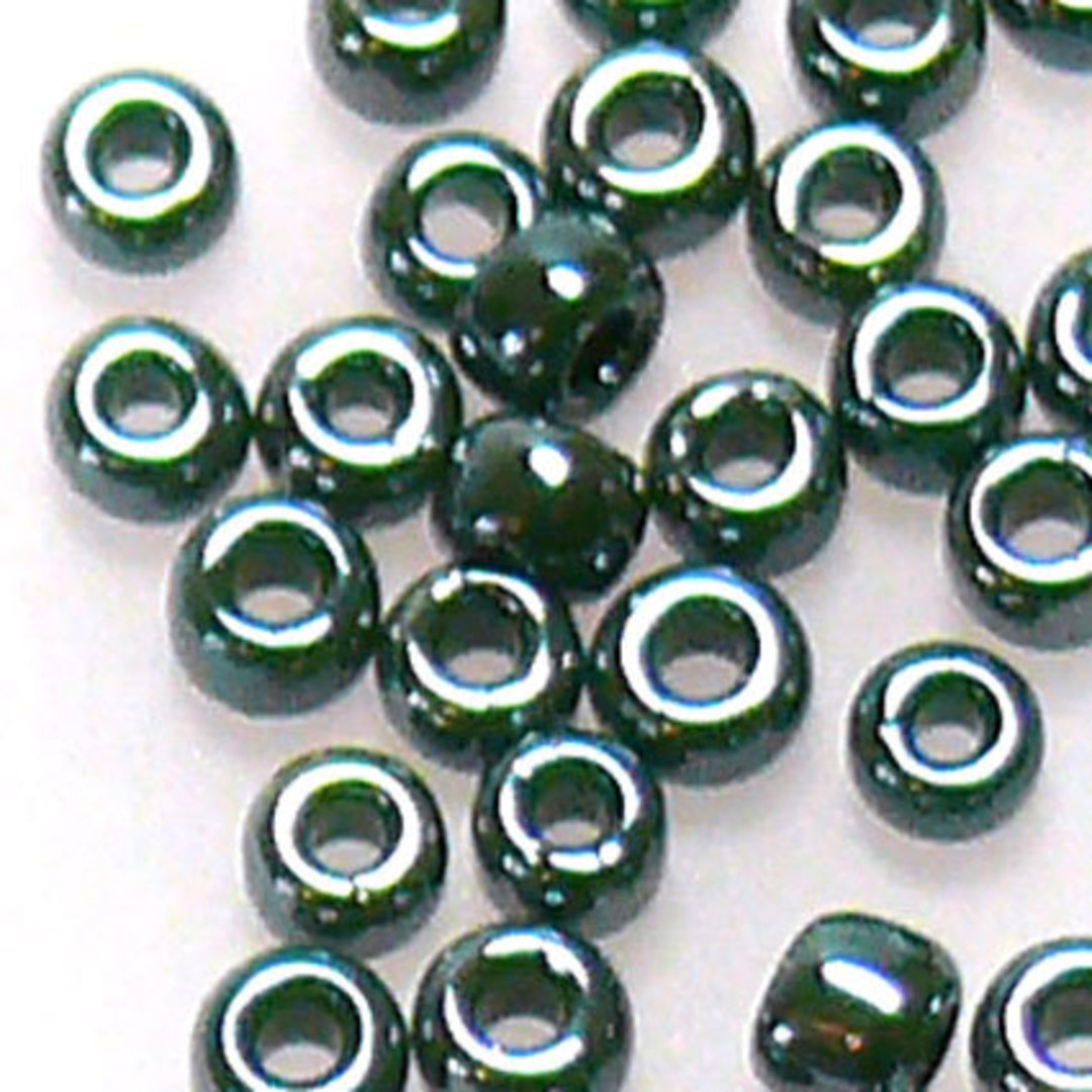 Toho size 11 round: 431B - Gungy Green Opal image 0