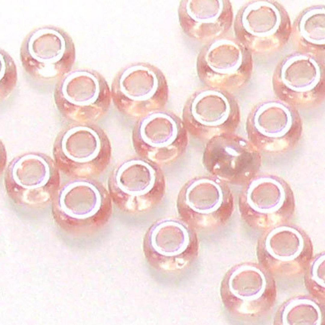Miyuki size 11 round: 366 - Pink satin image 0