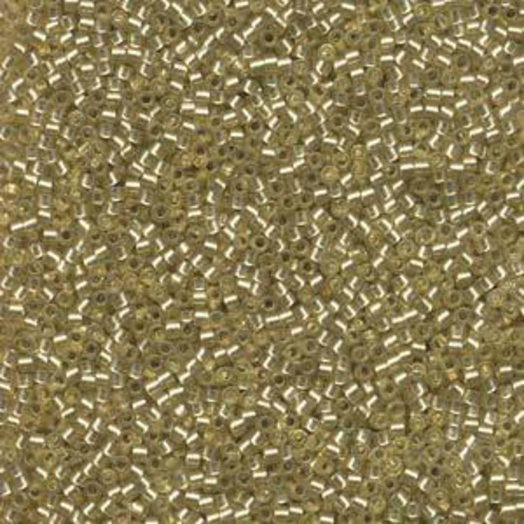 11/0 Miyuki Delica, colour 686 - Jonquil, semi matte, silver lined image 0