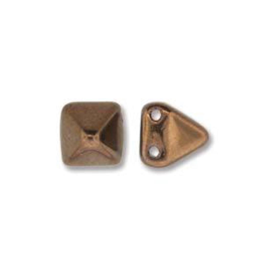 Pyramid Stud:  6mm - Jet Bronze image 0