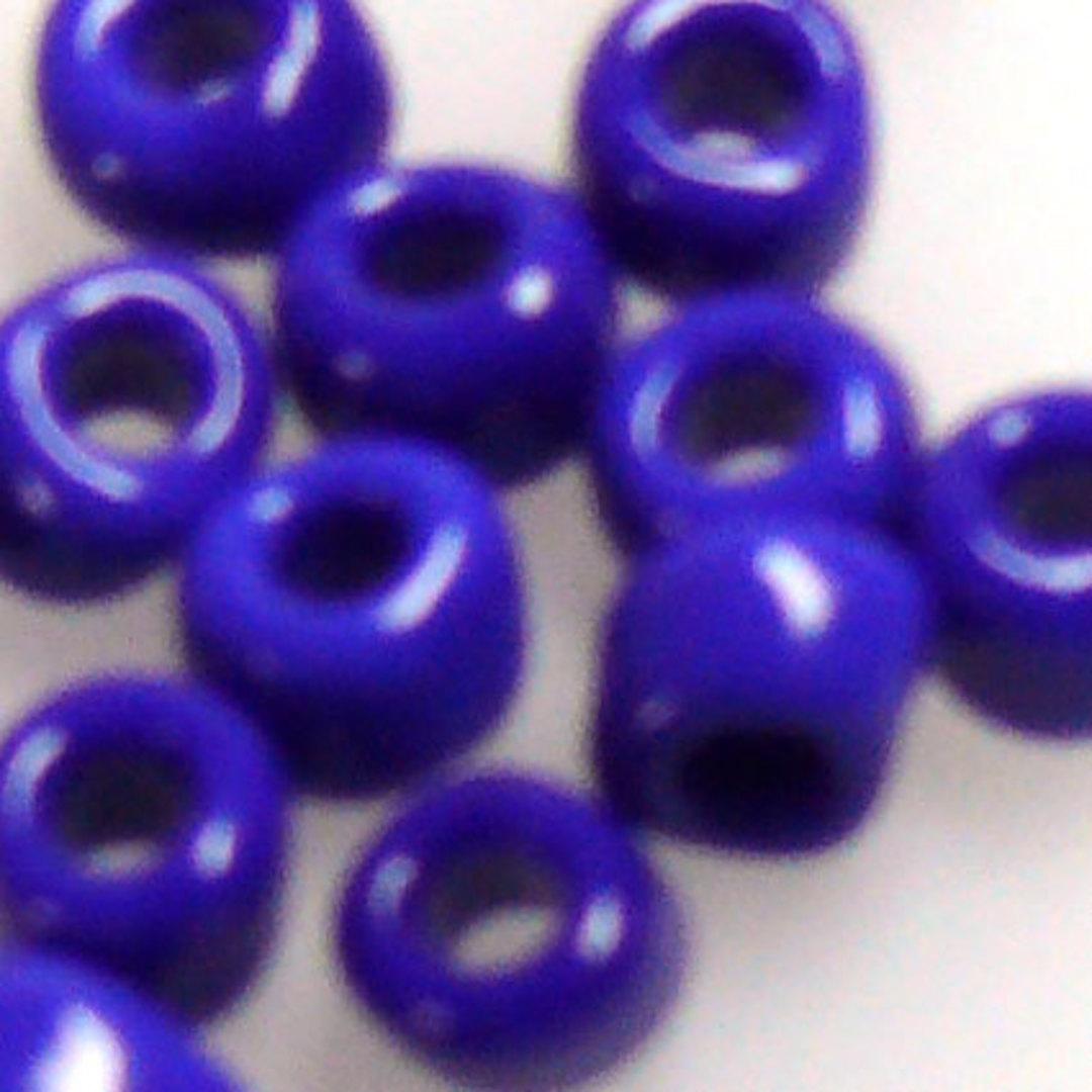 Matsuno size 6 round: 414 - Cobalt Opaque image 1