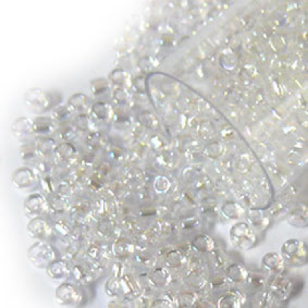 Matsuno size 11 round: 250 - Crystal Clear AB image 0