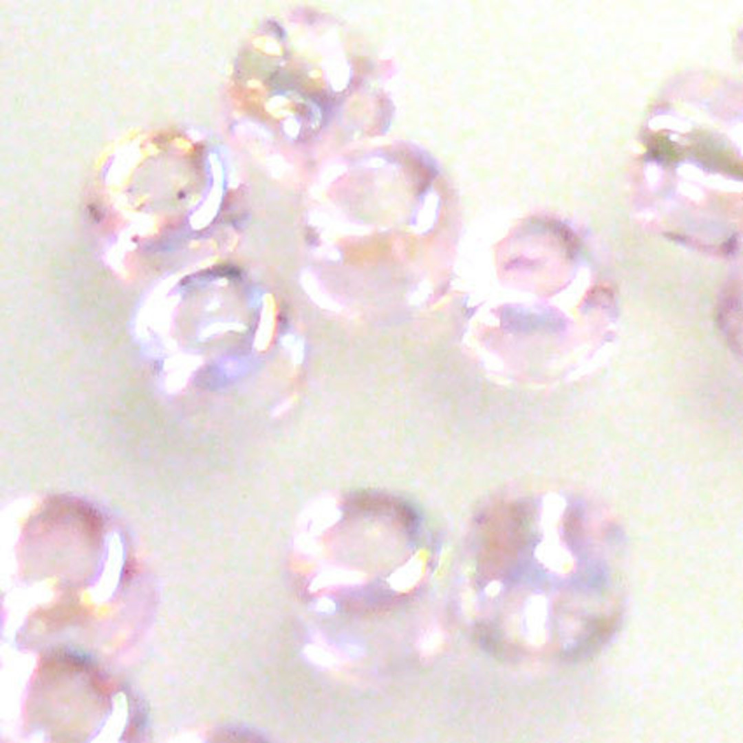 Matsuno size 8 round: 265 - Pink Shimmer, transparent image 0