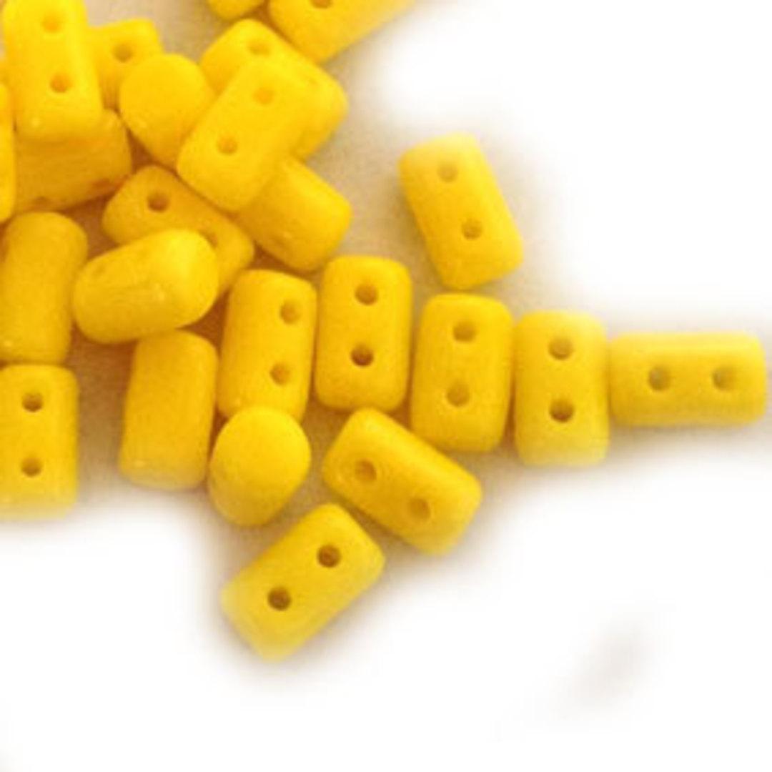Rulla Bead: Opaque Lemon image 0