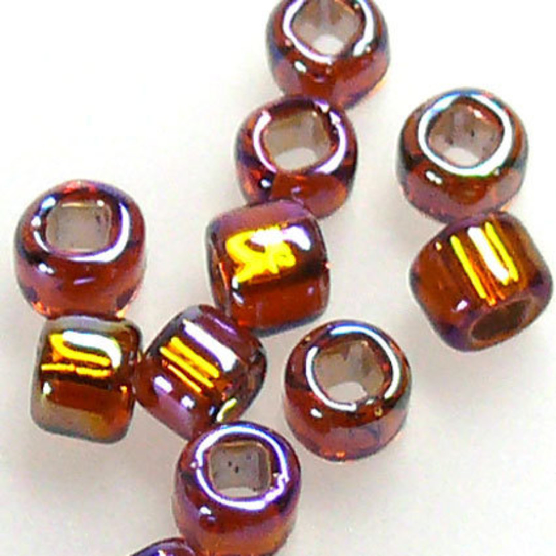Matsuno size 8 round: 648 - Brown Shimmer image 0