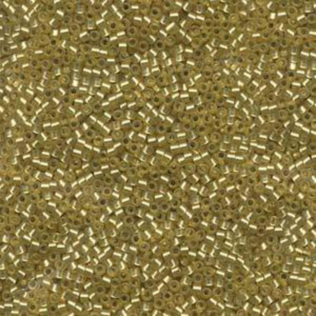 Delica, colour 687 - Peridot, semi-matte, silver lined image 0