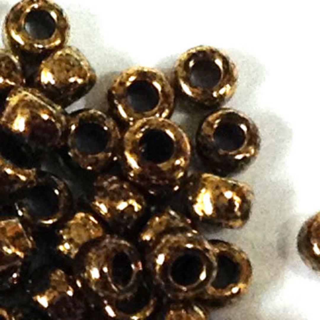 Toho size 8 round: 1705 - Brown, bronze colourwash image 1