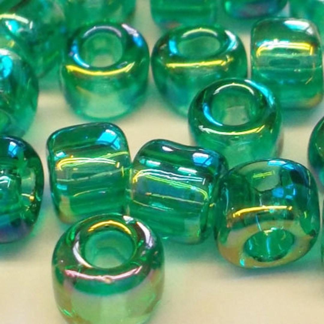 Matsuno size 6 round: 259 - Green Transparent AB image 1