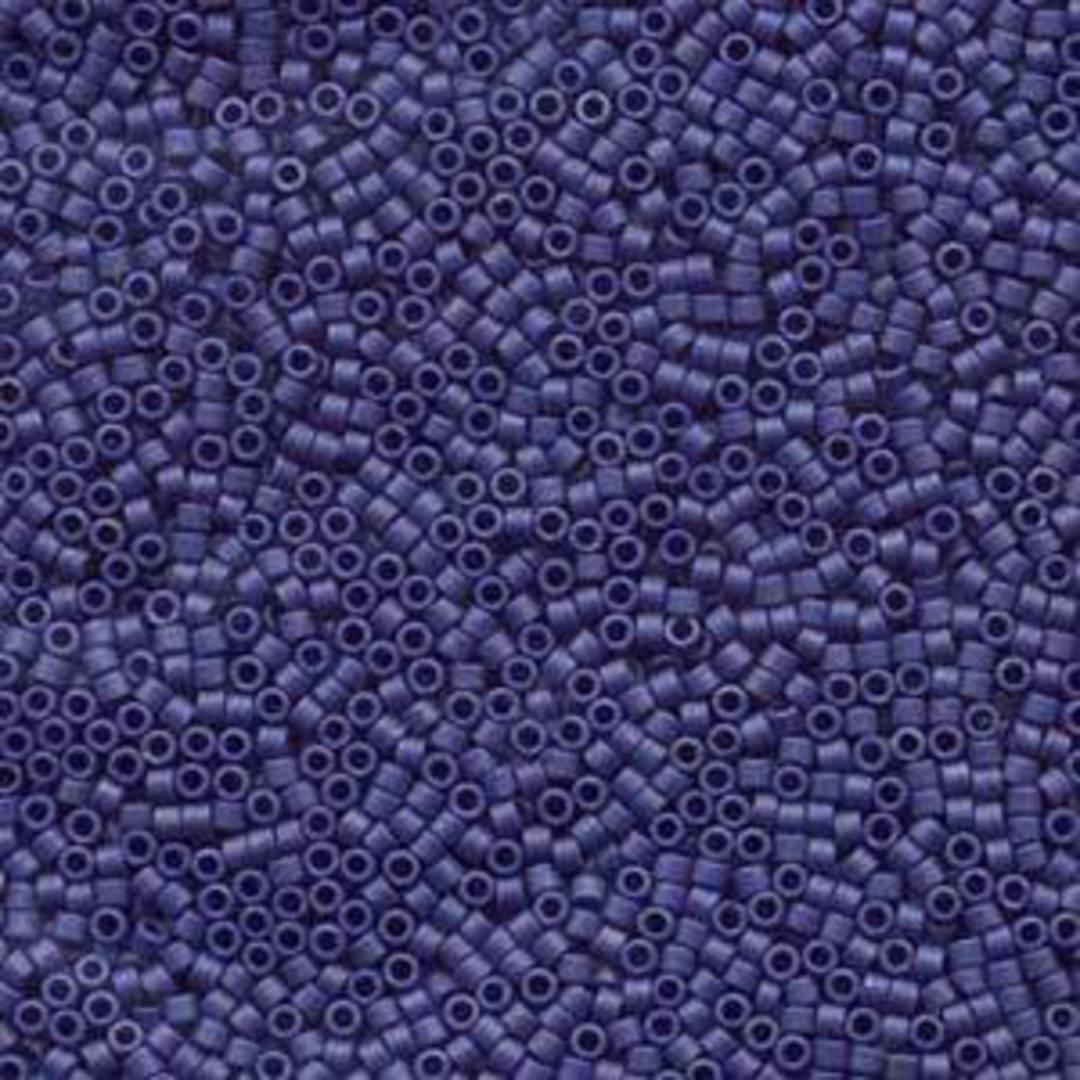 Delica, colour 377 - Matte Metallic Dark Blue Grey image 0