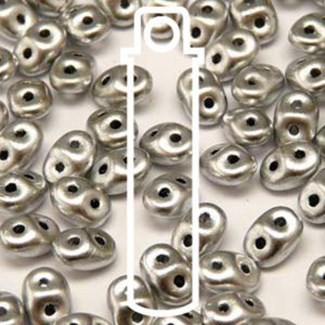 Superduo: (Matte Silver) Crystal Bronze Aluminium image 0