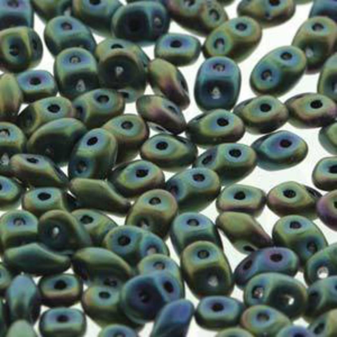 Superduo: Green Iris Matte image 0